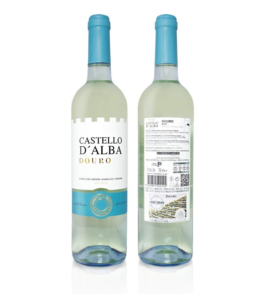 Vin Blanc Castello D'Alba Colheita 2018, 75cl Douro DOC