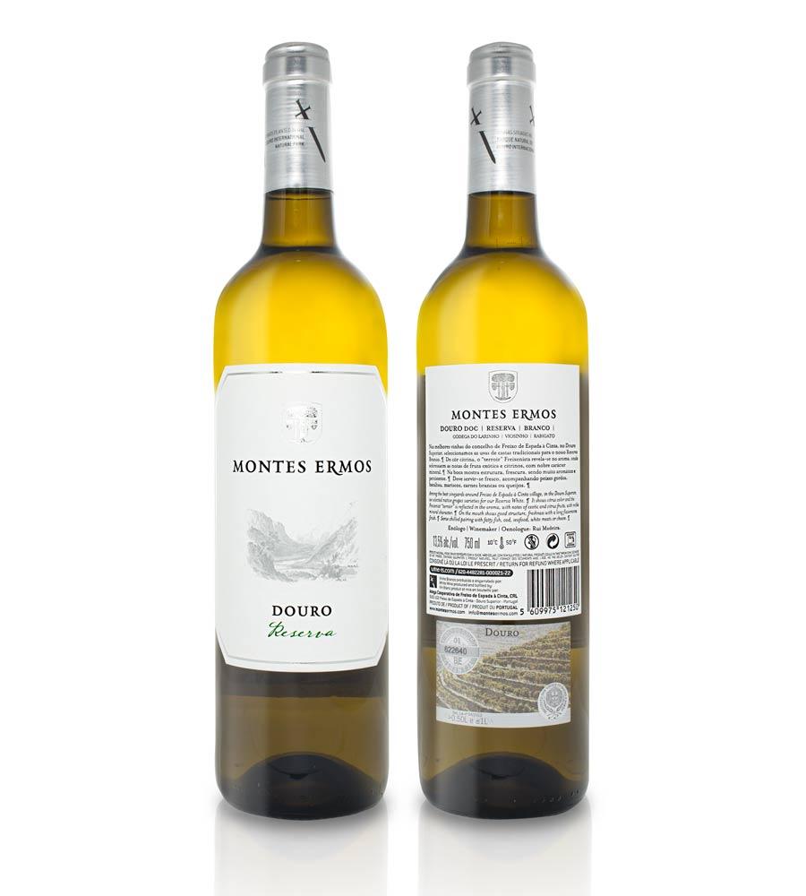 Vin Blanc Montes Ermos Reserva 2018, 75cl Douro DOC