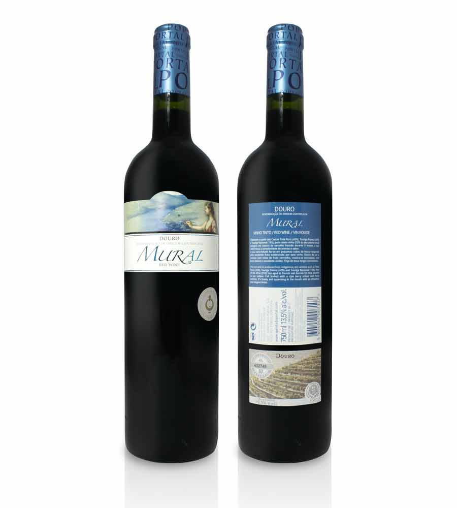 Vin Rouge Mural 2017, 75cl Douro