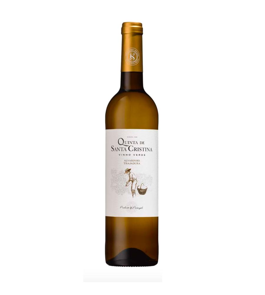 Vinho Verde Santa Cristina Alvarinho Trajadura 2019, 75cl Vinhos Verdes