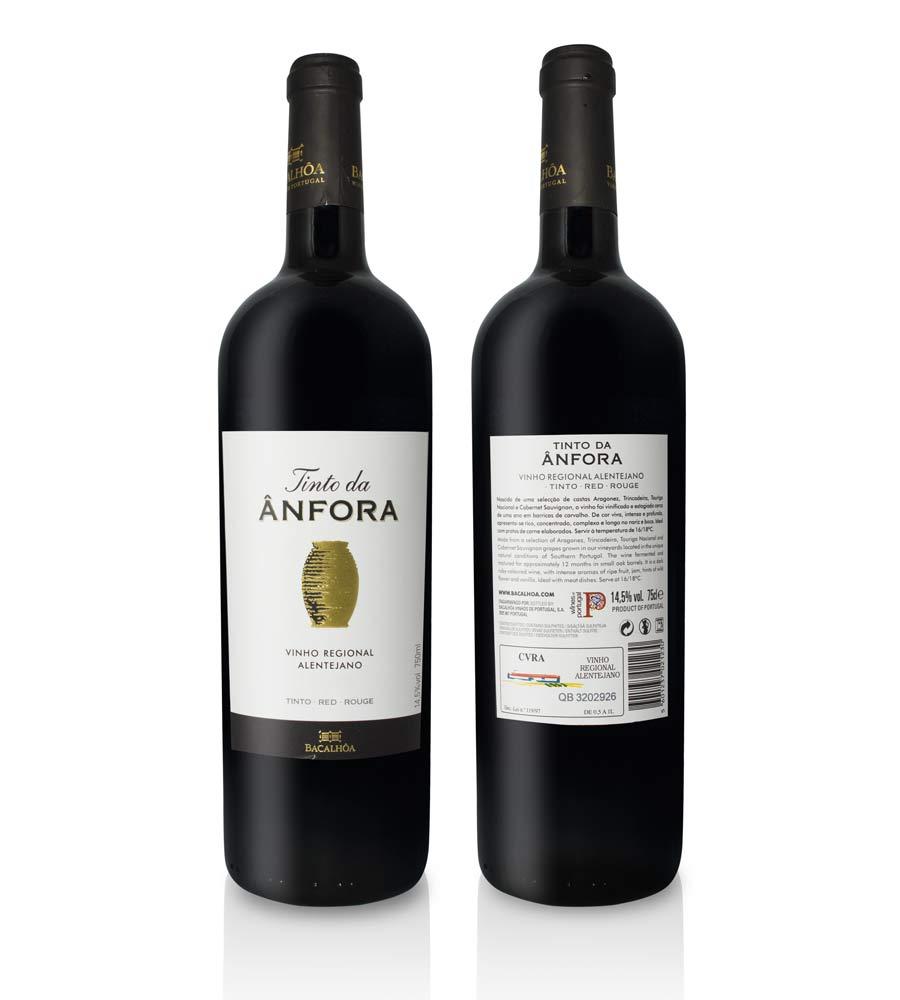 Vin Rouge Tinto da Ânfora 2016, 75cl Alentejo