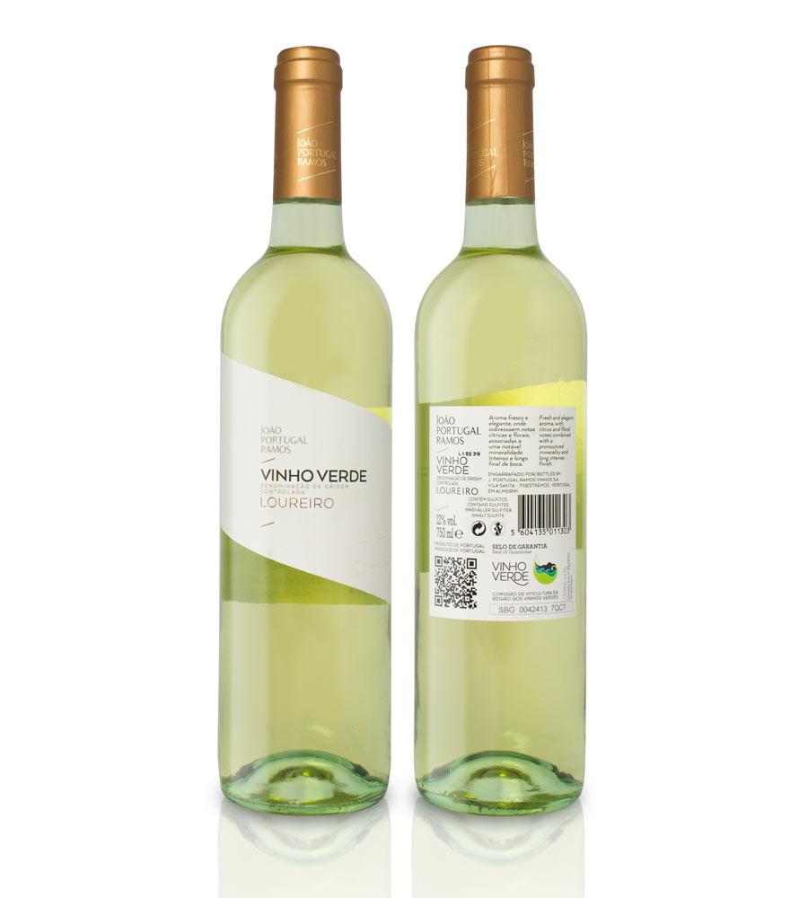 Vinho Verde João Portugal Ramos Loureiro 2019, 75cl Vinhos Verdes