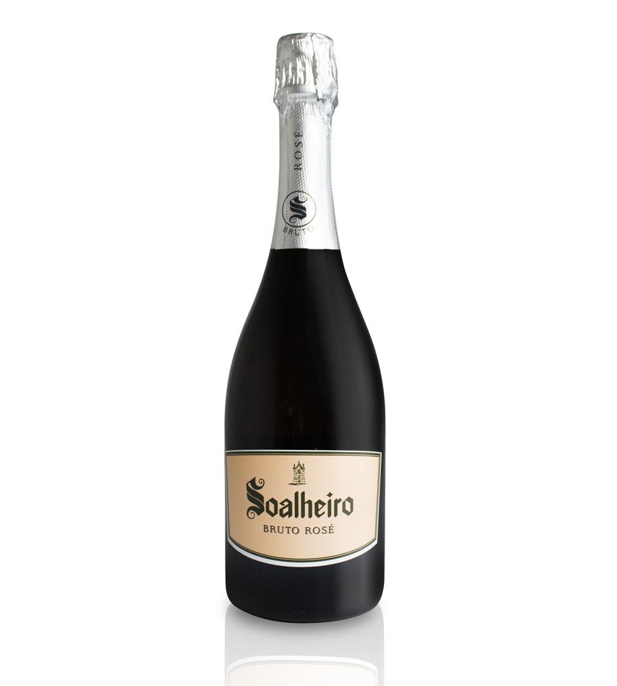 Vin Pétillant Rosé Soalheiro Bruto 2017, 75cl Vinho Verde