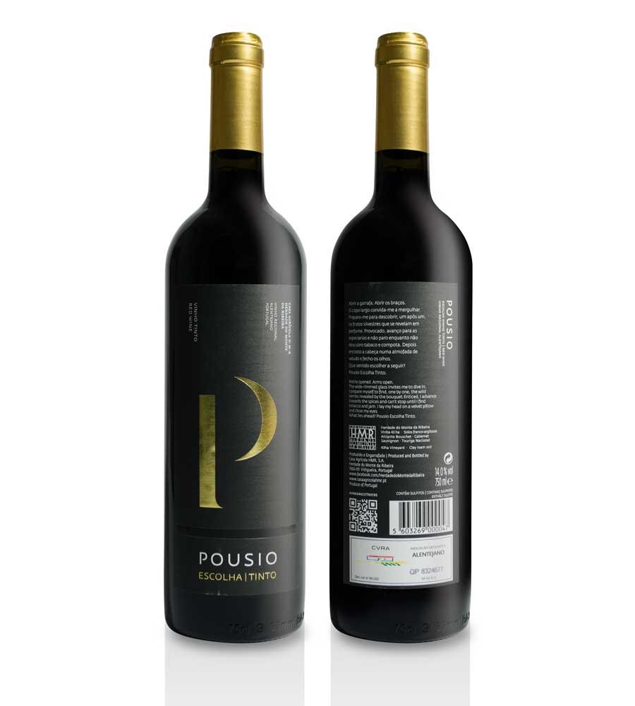 Vin Rouge Pousio Escolha 2014, 75cl Alentejo