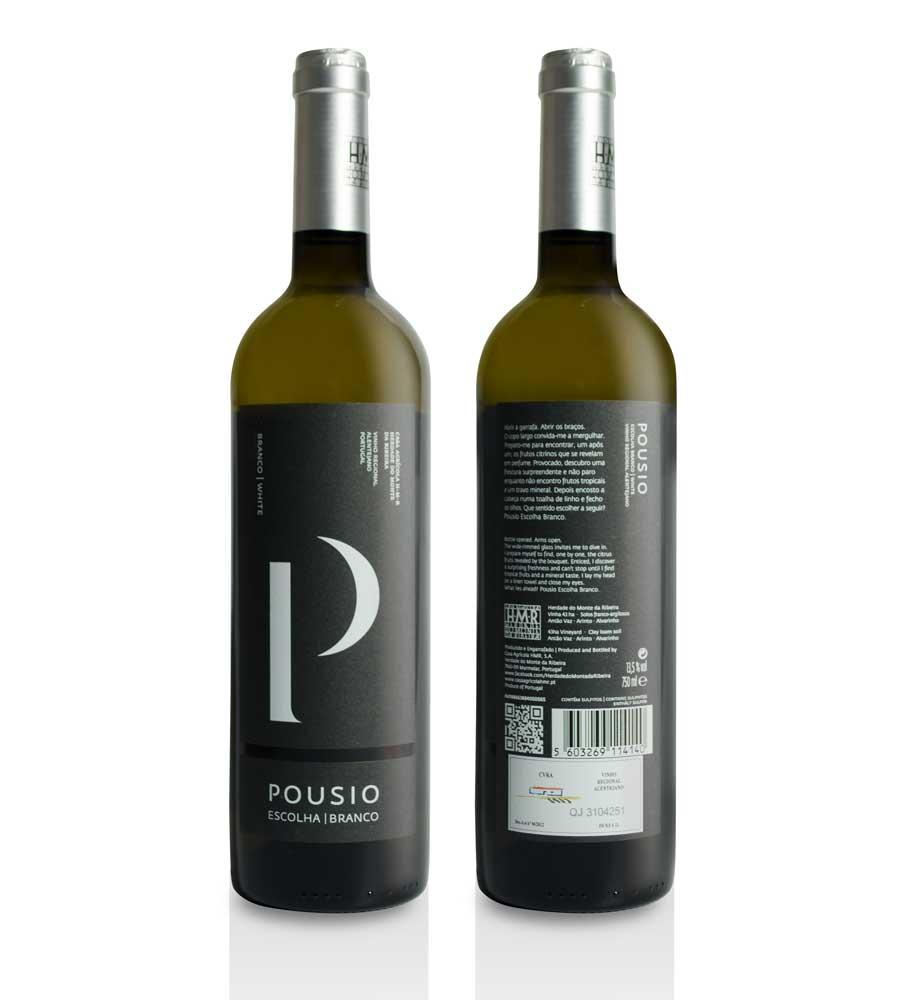 Vin Blanc Pousio Escolha 2015, 75cl Alentejo