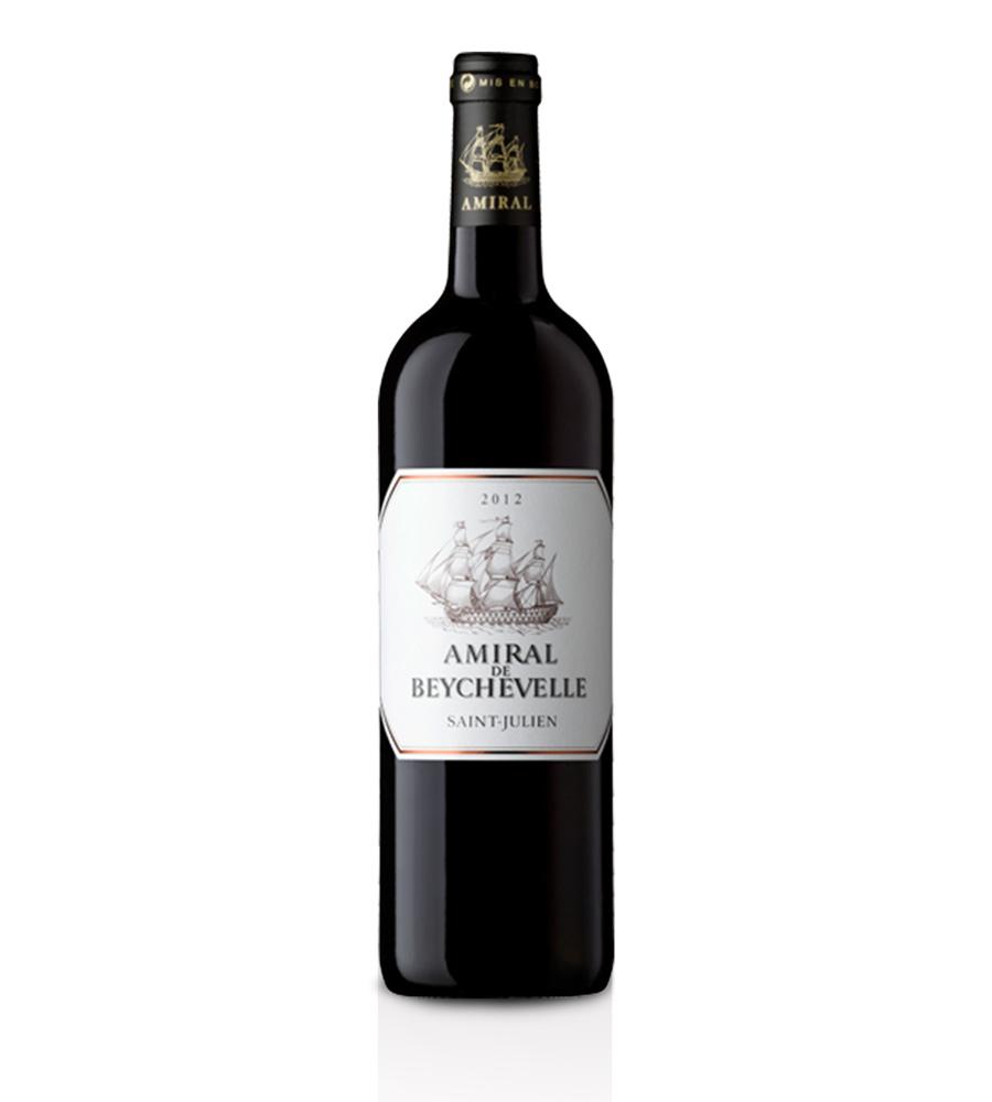 Vin Rouge Amiral de Beychevelle Château Beychevelle 2016, 75cl Bordeaux