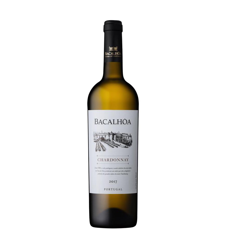 Vin Blanc Bacalhôa Chardonnay 2017, 75cl Regional Península de Setúbal