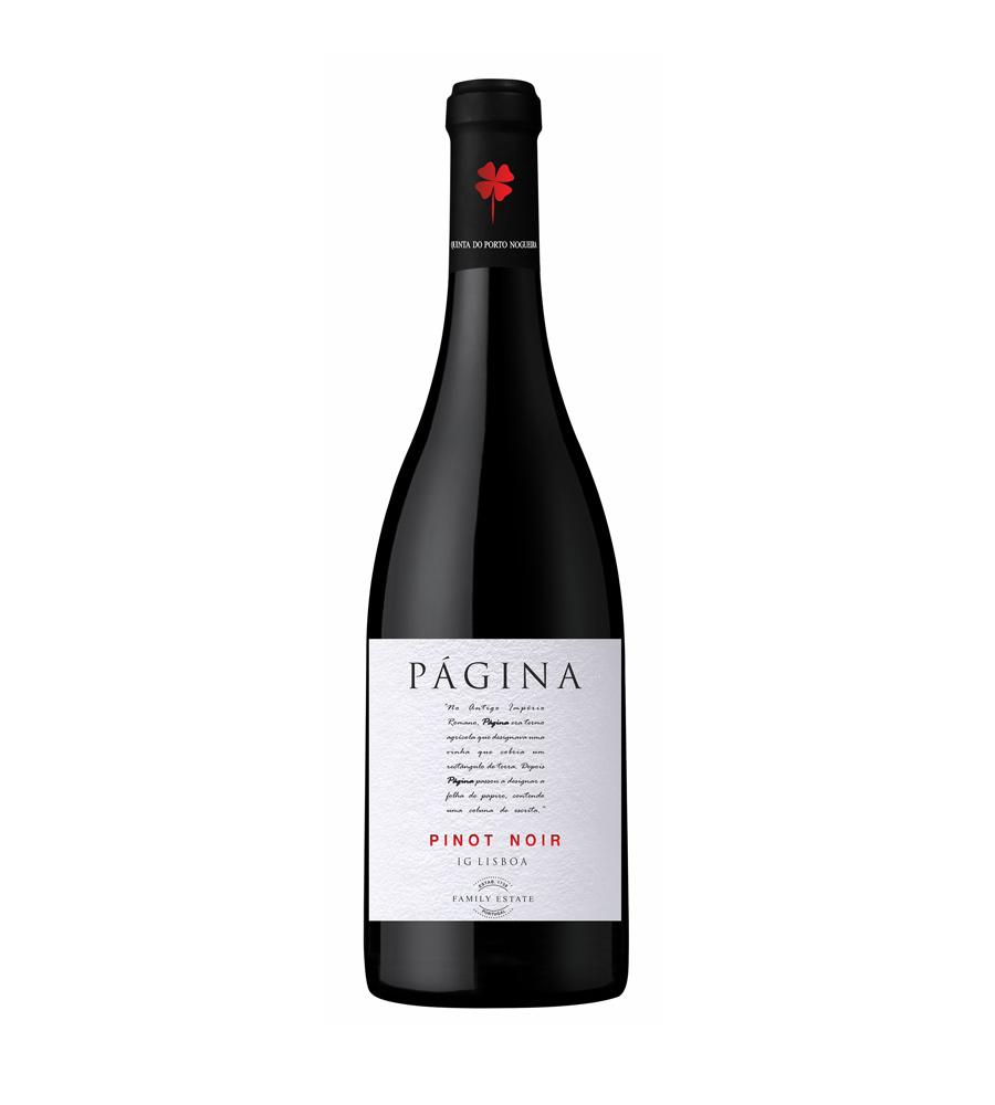 Vin Rouge Página Pinot Noir 2018, 75cl Lisboa