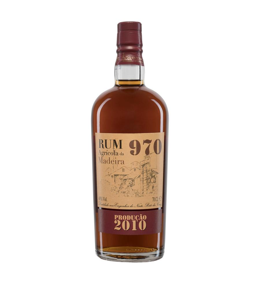 Rum 970 Produção 2010, 70cl Madeira
