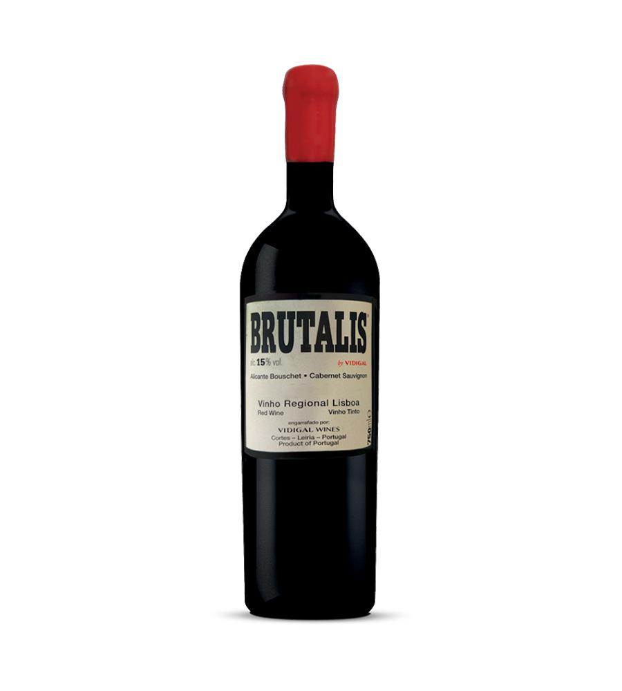 Vin Rouge Brutalis 2015, 75cl Lisboa