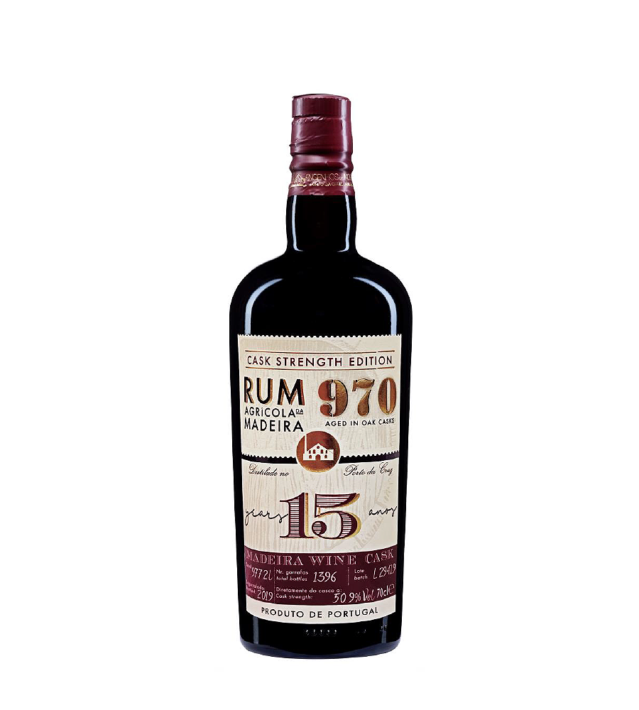 Rum 970 15 years, 70cl Madeira