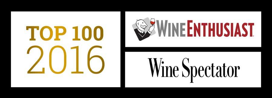Top 100 vins de 2016