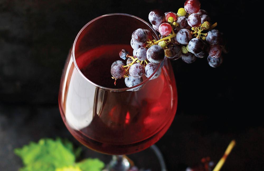 Les bienfaits du vin rouge avec le repas