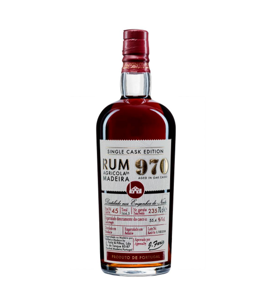 Rum 970 Single Cask Edition 2019, 70cl Madeira